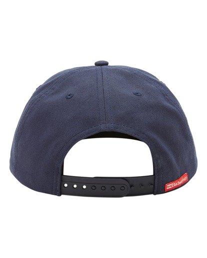 3 Budweiser Insignia Snapback Hat Blue ABYHA00233 Billabong