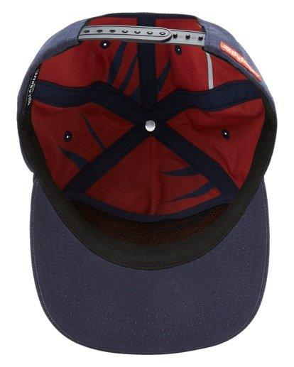 4 Budweiser Insignia Snapback Hat Blue ABYHA00233 Billabong