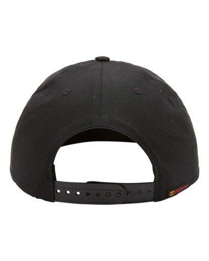 3 Budweiser Bow Snapback Hat Black ABYHA00235 Billabong