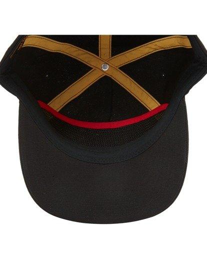 4 Budweiser Bow Snapback Hat Black ABYHA00235 Billabong