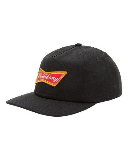 0 Budweiser Bow Snapback Hat Black ABYHA00235 Billabong