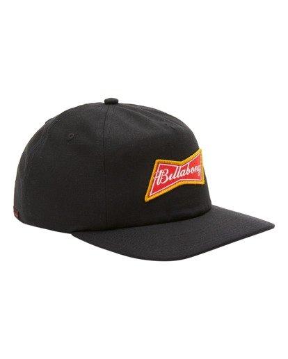 2 Budweiser Bow Snapback Hat Black ABYHA00235 Billabong