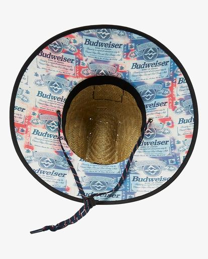 3 Budweiser Tides Print Hat Red ABYHA00236 Billabong