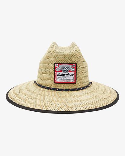 1 Budweiser Tides Print Hat Red ABYHA00236 Billabong