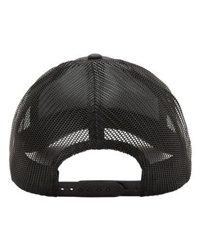 3 A/Div Walled Trucker Hat Black ABYHA00238 Billabong