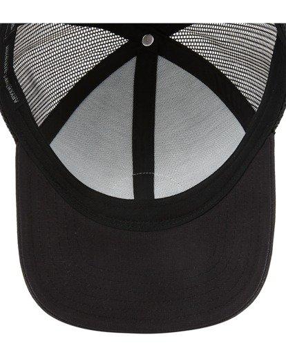 4 A/Div Walled Trucker Hat Black ABYHA00238 Billabong
