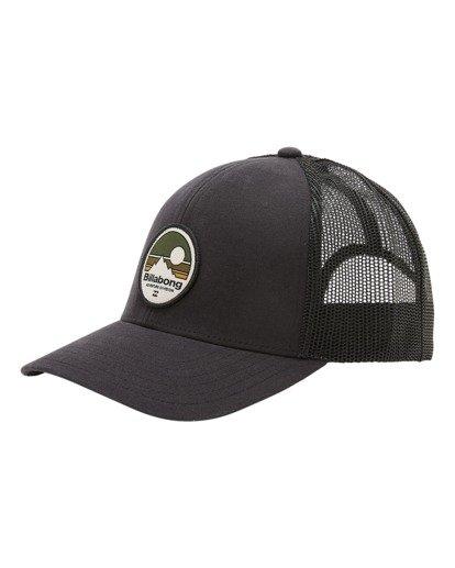 0 A/Div Walled Trucker Hat Black ABYHA00238 Billabong