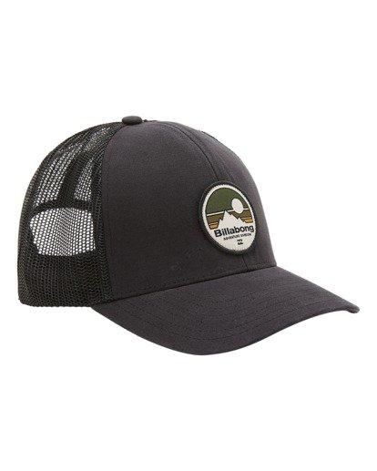 2 A/Div Walled Trucker Hat Black ABYHA00238 Billabong