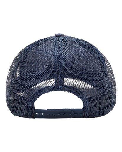3 A/Div Walled Trucker Hat Blue ABYHA00238 Billabong