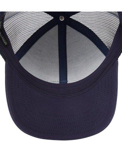 4 A/Div Walled Trucker Hat Blue ABYHA00238 Billabong