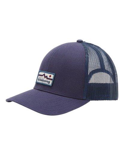 0 A/Div Walled Trucker Hat Blue ABYHA00238 Billabong