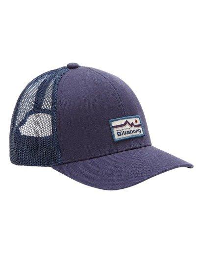 2 A/Div Walled Trucker Hat Blue ABYHA00238 Billabong