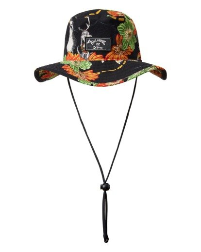 1 Aloha Grinch Big John Hat Black ABYHA00240 Billabong