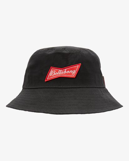 1 Budweiser Bow Bucket Hat Black ABYHA00246 Billabong