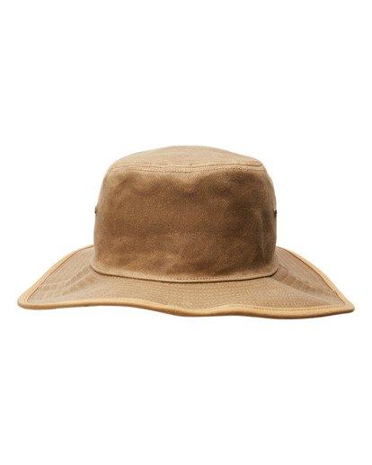 3 Waxed Twill Big John Safari Hat Grey ABYHA00273 Billabong