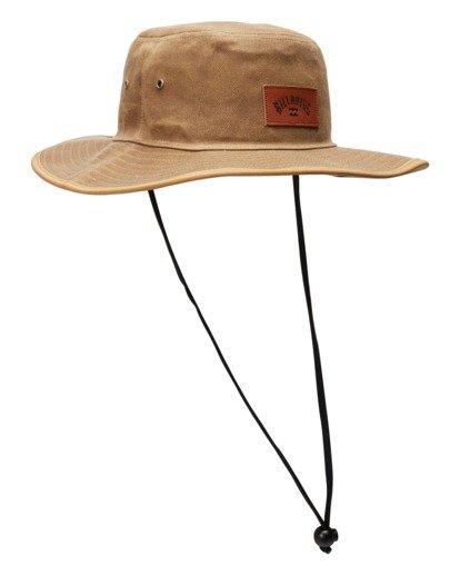 2 Waxed Twill Big John Safari Hat Grey ABYHA00273 Billabong