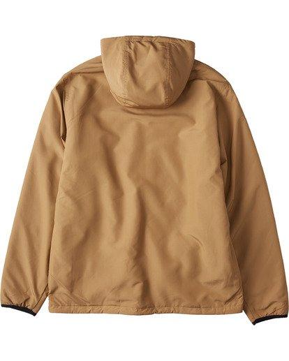2 Switchback Reversible Jacket Brown ABYJK00100 Billabong
