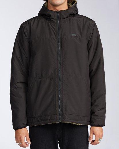 0 Switchback Reversible Jacket Black ABYJK00100 Billabong