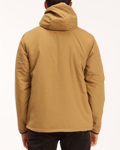 2 A/Div Switchback Reversible Jacket Brown ABYJK00100 Billabong
