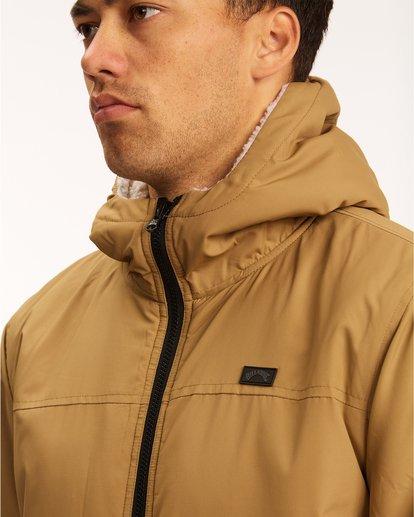 5 A/Div Switchback Reversible Jacket Brown ABYJK00100 Billabong