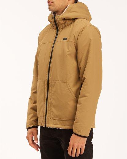 1 A/Div Switchback Reversible Jacket Brown ABYJK00100 Billabong