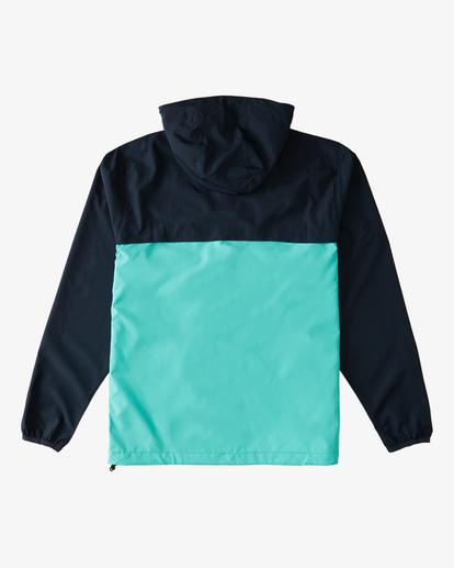 1 Transport Windbreaker Jacket Blue ABYJK00101 Billabong