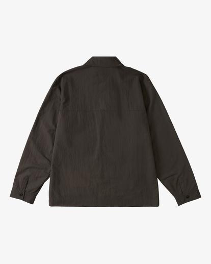 6 Currents Windbreaker Jacket Black ABYJK00105 Billabong