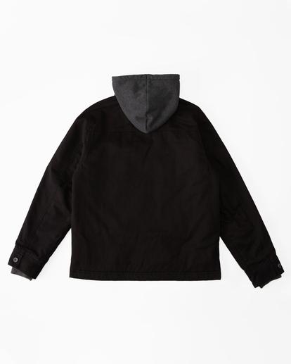 5 Barlow Hooded Jacket Black ABYJK00122 Billabong