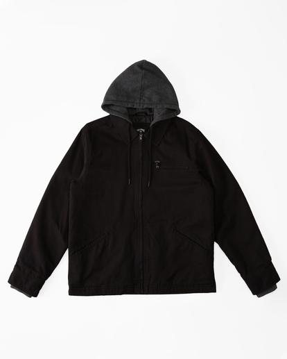 4 Barlow Hooded Jacket Black ABYJK00122 Billabong