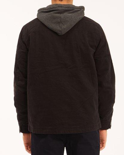 2 Barlow Hooded Jacket Black ABYJK00122 Billabong