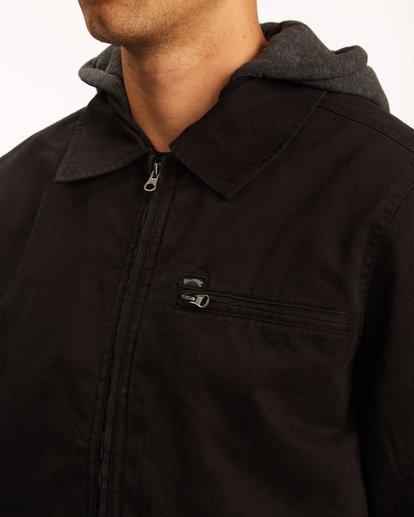 3 Barlow Hooded Jacket Black ABYJK00122 Billabong