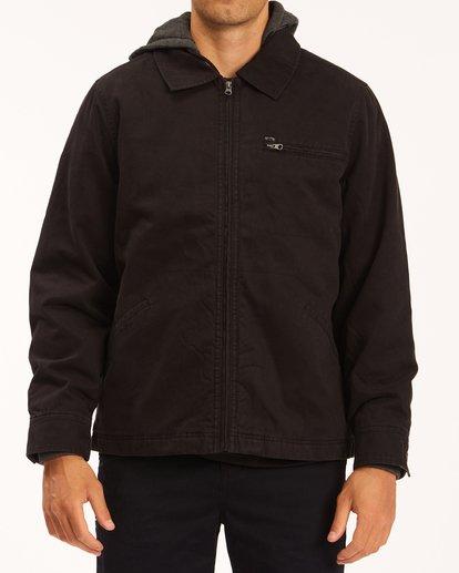 0 Barlow Hooded Jacket Black ABYJK00122 Billabong