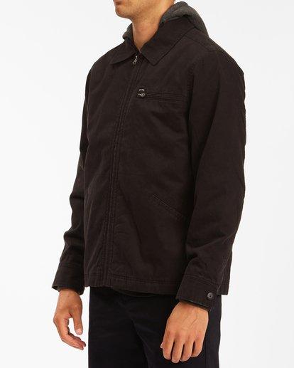 1 Barlow Hooded Jacket Black ABYJK00122 Billabong