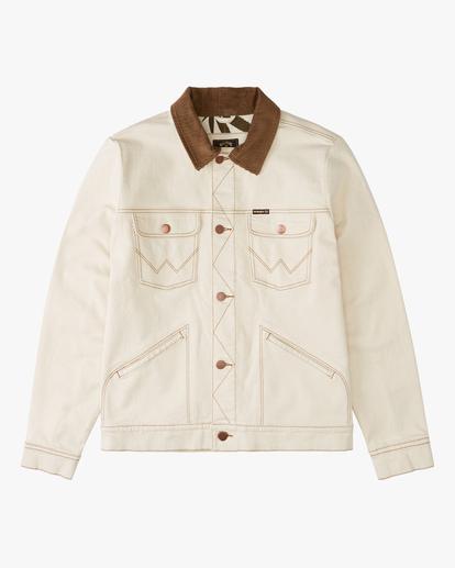 5 Wrangler Team Ranch Jacket White ABYJK00126 Billabong