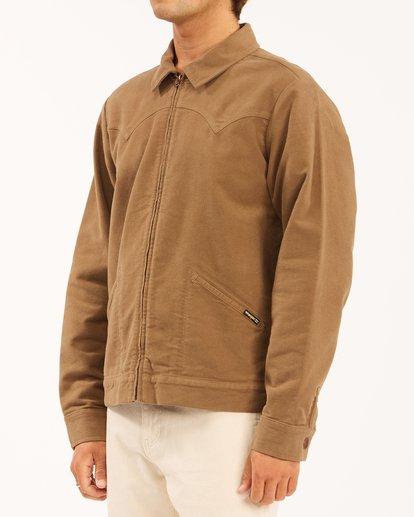1 Wrangler Maverick Moleskin Jacket Brown ABYJK00129 Billabong