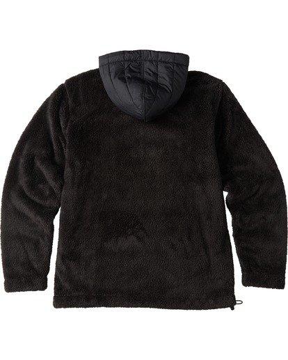 5 A/Div Badger Half Zip Hoodie Black ABYKT00100 Billabong