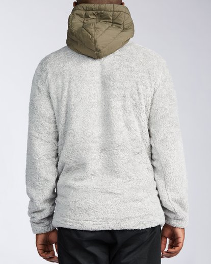 2 Badger Half Zip Hoodie Grey ABYKT00100 Billabong