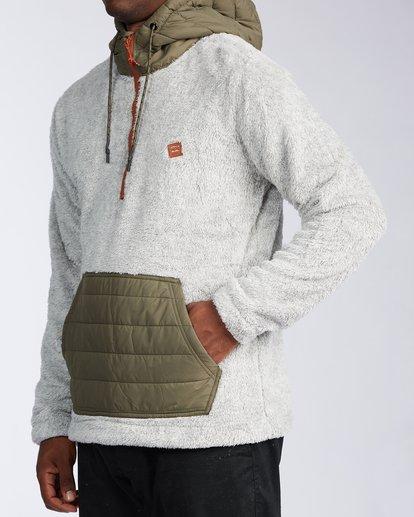 1 Badger Half Zip Hoodie Grey ABYKT00100 Billabong