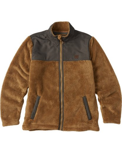 4 Flint Zip Jacket Brown ABYKT00101 Billabong
