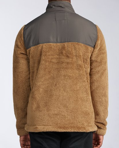 2 Flint Zip Jacket Brown ABYKT00101 Billabong