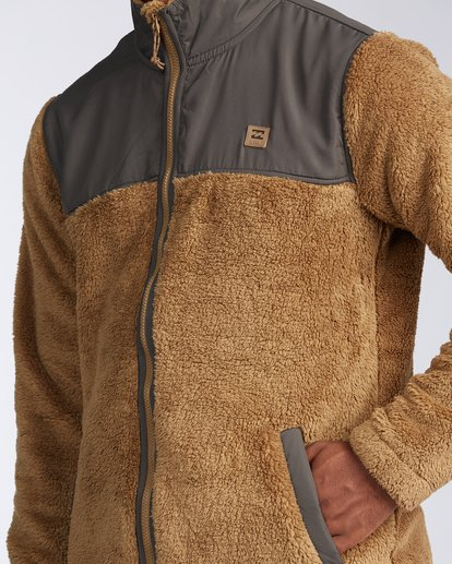 3 Flint Zip Jacket Brown ABYKT00101 Billabong