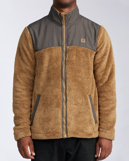 0 Flint Zip Jacket Brown ABYKT00101 Billabong