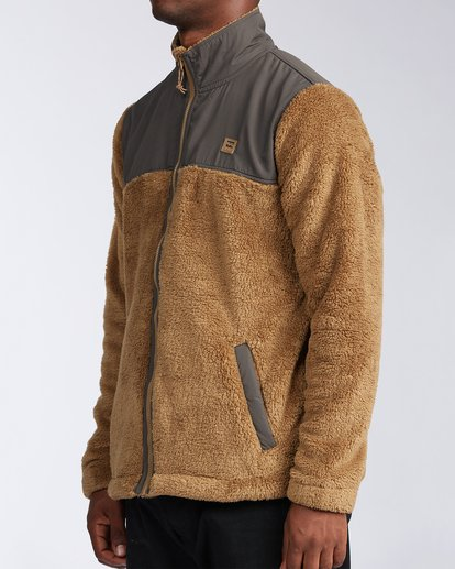 1 Flint Zip Jacket Brown ABYKT00101 Billabong