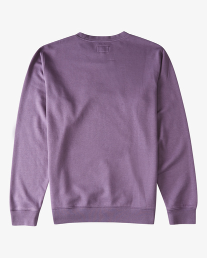 5 Wave Wash Crew Neck Pullover Purple ABYKT00112 Billabong
