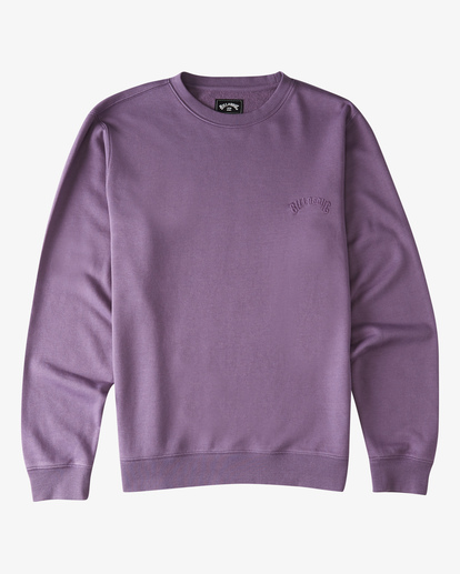 4 Wave Wash Crew Neck Pullover Purple ABYKT00112 Billabong