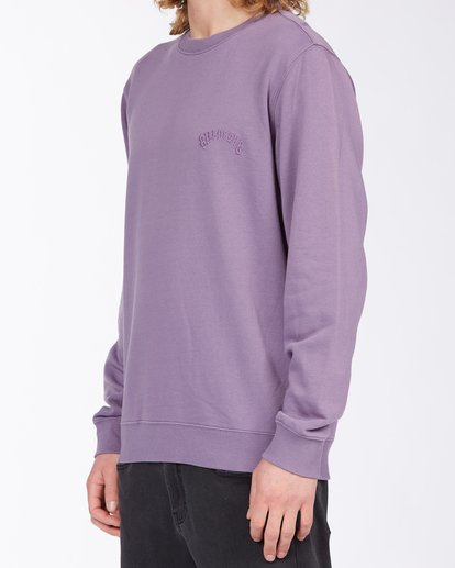 1 Wave Wash Crew Neck Pullover Purple ABYKT00112 Billabong