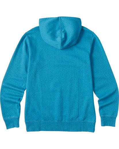 4 Wave Washed Pullover Hoodie Blue ABYKT00113 Billabong