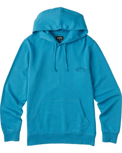 3 Wave Washed Pullover Hoodie Blue ABYKT00113 Billabong
