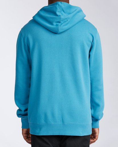 2 Wave Washed Pullover Hoodie Blue ABYKT00113 Billabong