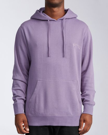 0 Wave Washed Pullover Hoodie Purple ABYKT00113 Billabong